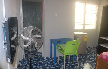Furnished single room self-contained